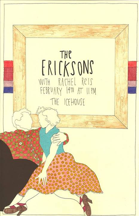 The Ericksons at the Icehouse Feb 14, 2014