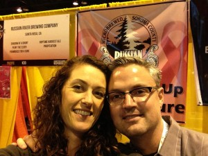 Russian River at the GABF // Courtesy of Russian River Brewing Company