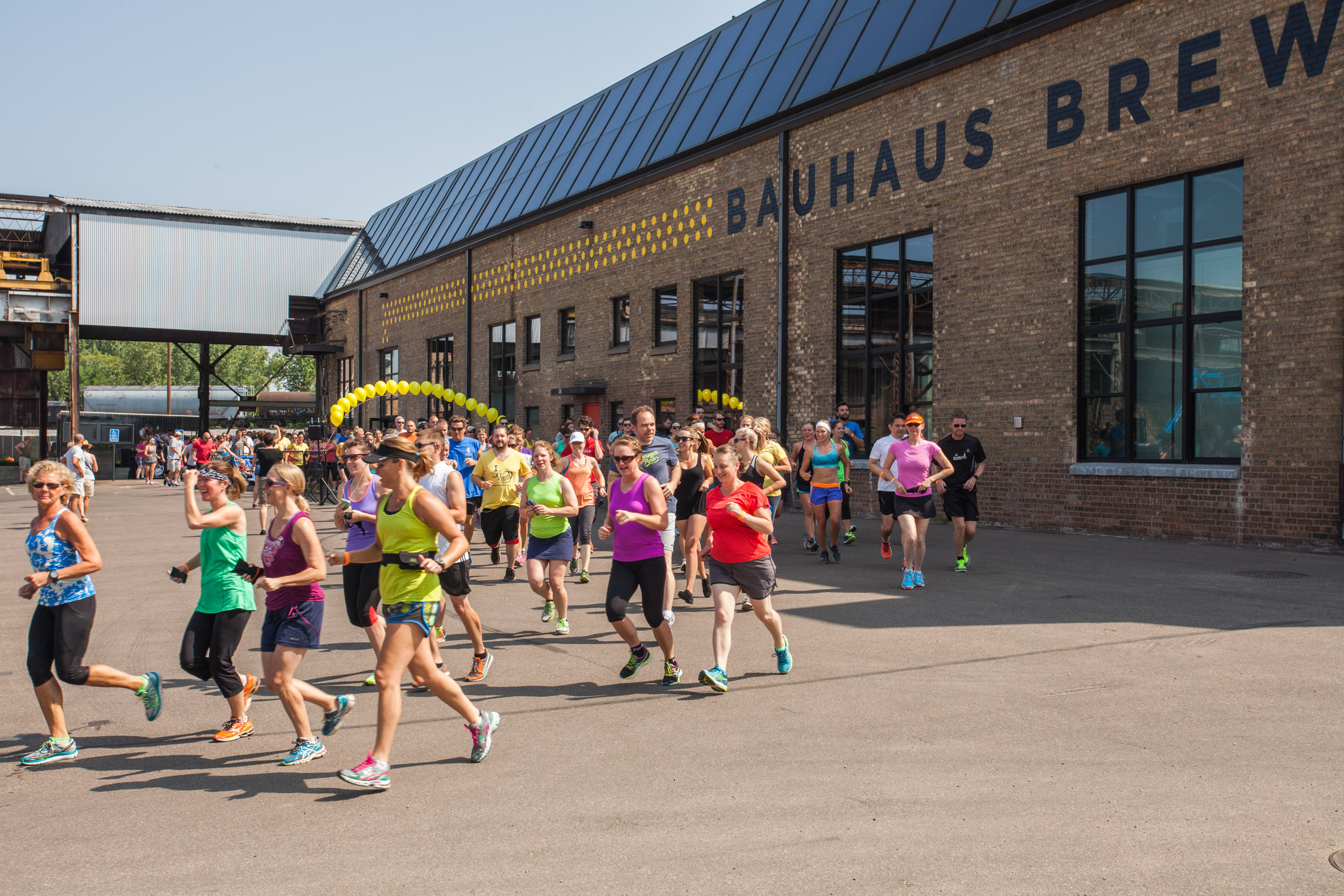 MN Brewery Running 5k at Bauhaus Brewlabs // Photo by Chris Moen