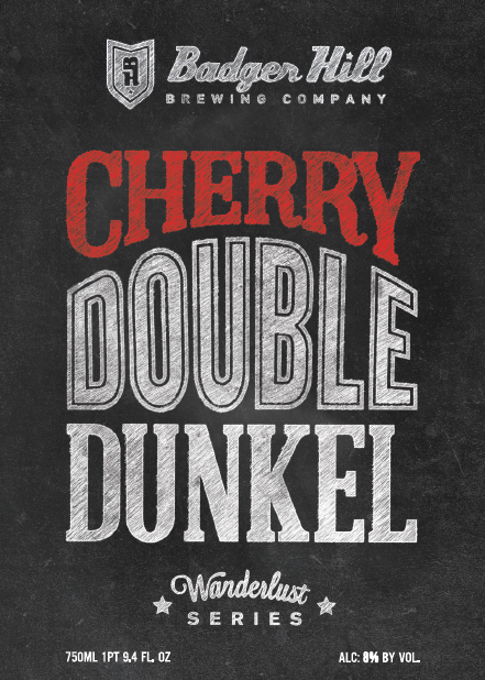 Badger Hill Cherry Double Dunkel // Photo courtesy of Badger Hill Brewing