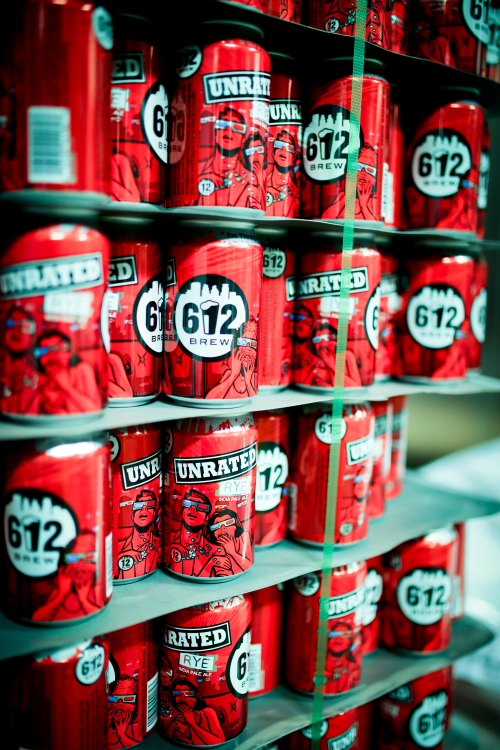 612Brew Unrated in cans // Photo by Aaron Davidson