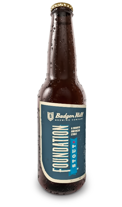 Badger Hill Foundation Stout // Photo courtesy of Badger Hill
