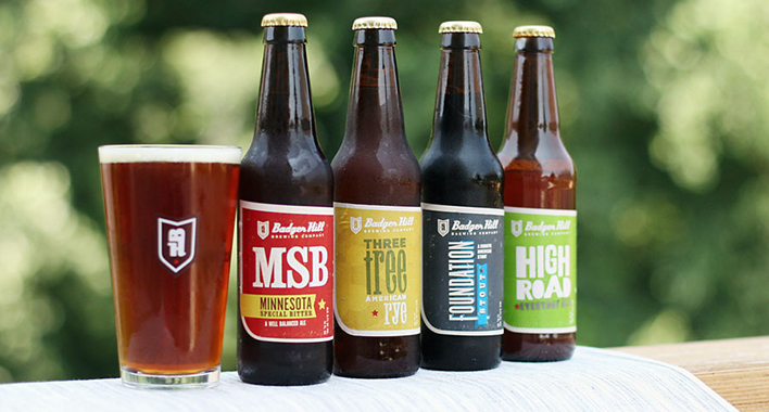 Badger Hill Beers // Photo courtesy of Badger Hill Brewing