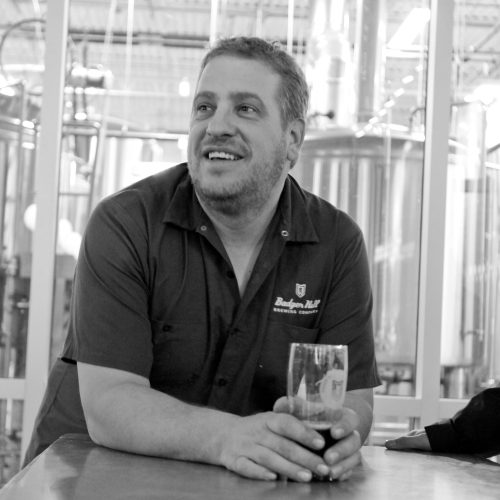 Badger Hill president and co-founder Broc Krekelberg at the Shakopee brewery // Photo by Aaron Davidson