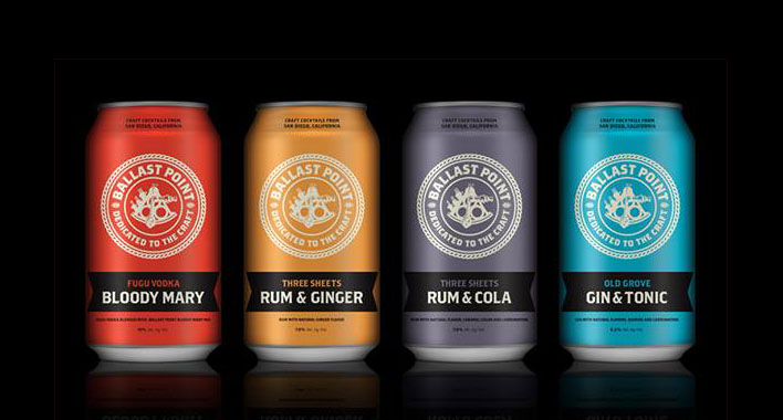 Ballast Point Canned Cocktail