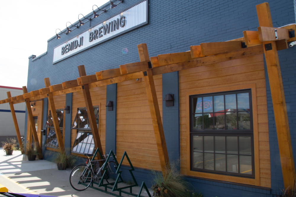 Bemidji Brewing's new 15-barrel brewery and taproom // Photo by Brian Kaufenberg