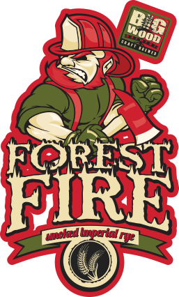 Big Wood Forest Fire Smoked Imperial Rye Ale // Courtesy of Big Wood Brewery