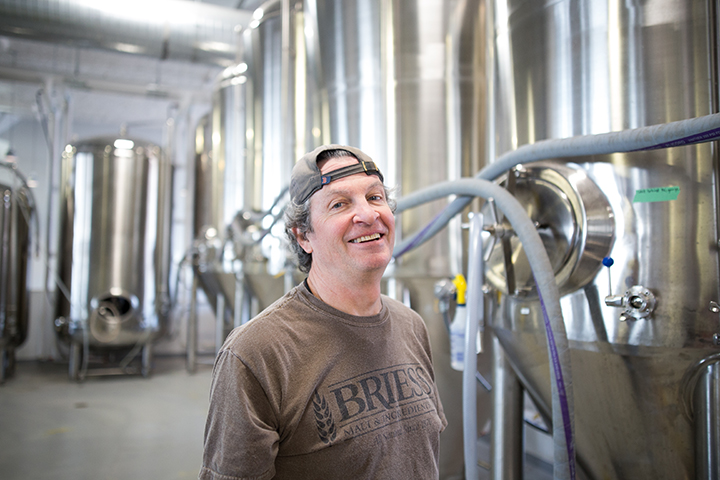BlackStack Brewing head brewer Bob DuVernois // Photo by Aaron Davidson