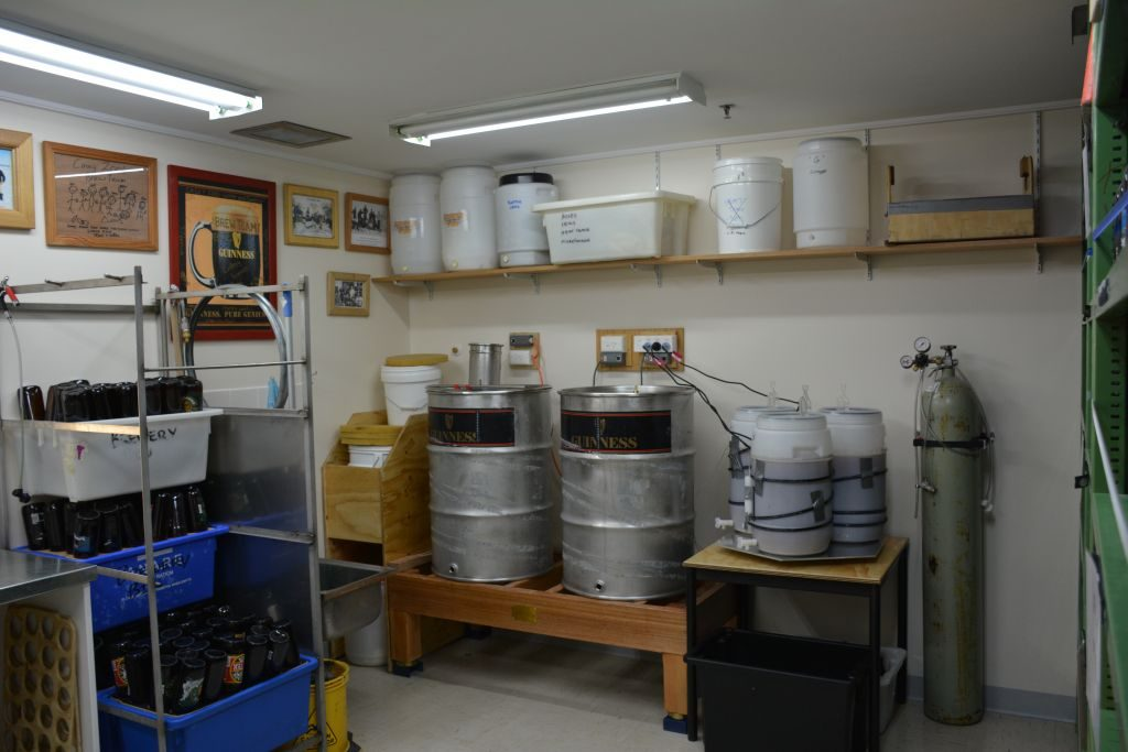 Casey Station Homebrewing Equipment // Photo by Steve Black