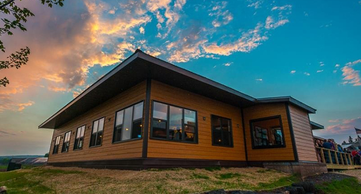 Castle Danger Brewery's New Taproom // Photo courtesy of Christian Dalbec Photography
