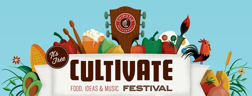 Chipotle Cultivate logo // Courtesy of Chipotle