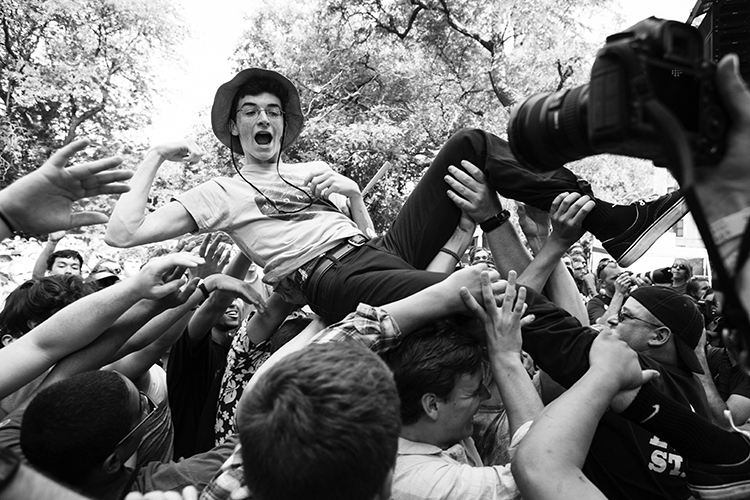 Crowd at Pitchfork 2014 // Photo by Jessica Lehrman