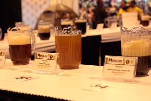 Pro-Am Competition Table at the GABF 2013 // Photo by Brian Kaufenberg