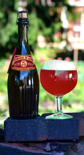 Schell's Framboise Du Nord // Photo courtesy of August Schell Brewing Company