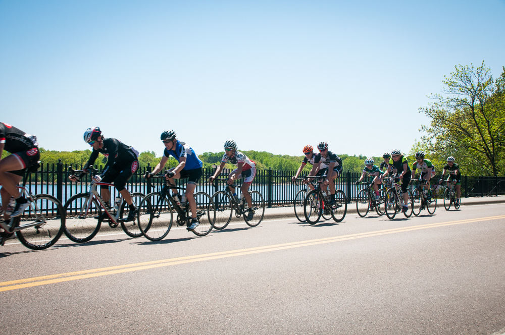 Bikers in the Fulton Gran Fondo // Via fultongranfondo.com