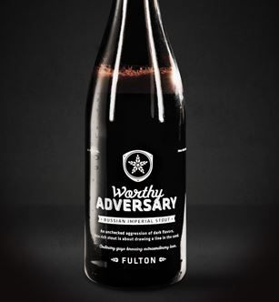 Fulton Worthy Adversary Russian stout beer