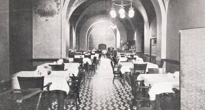 The rathskeller at the Minnesota State Capitol // Photo courtesy of Minnesota Historical Society