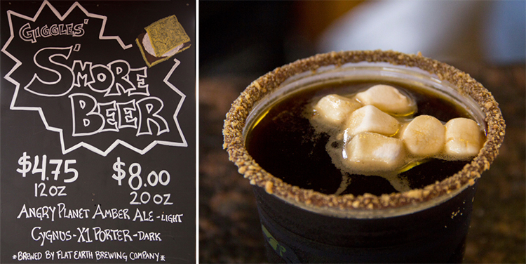 Giggles' S'More Beer, Minnesota State Fair 2014 // Photo by Brian Kaufenberg