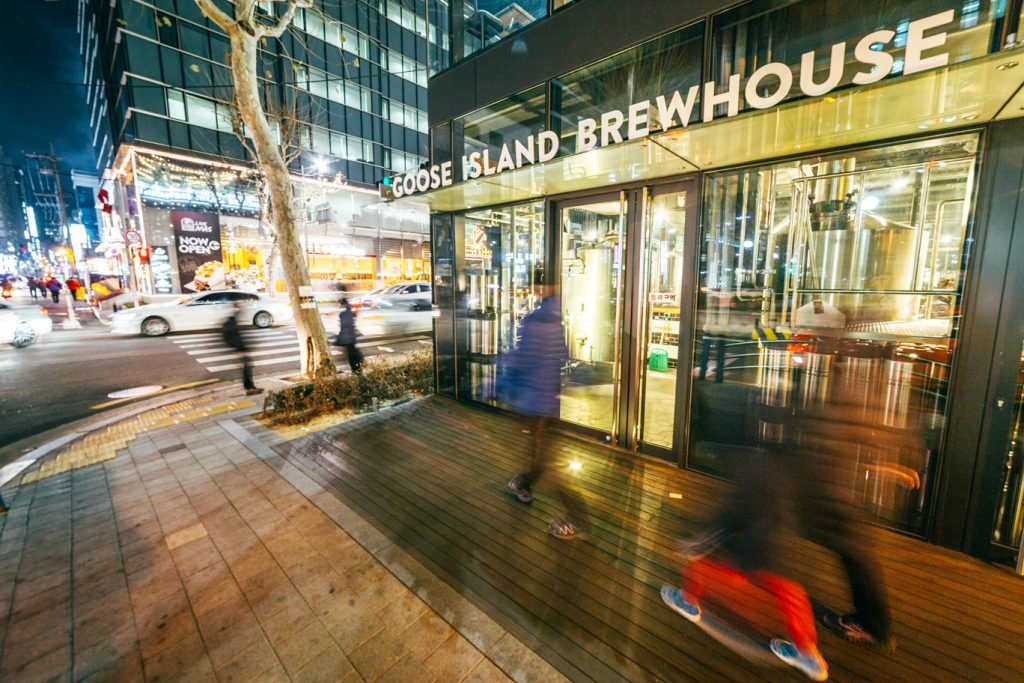 Goose Island Brewhouse, Seoul, South Korea // Photo by Robert Michael Evans