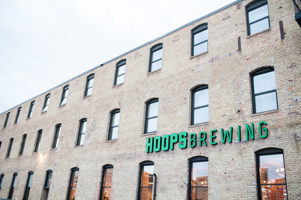 Hoops Brewing in Duluth's Canal Park is set to open at the end of June // Photo by JaneCane Photography / www.janecanephotography.com