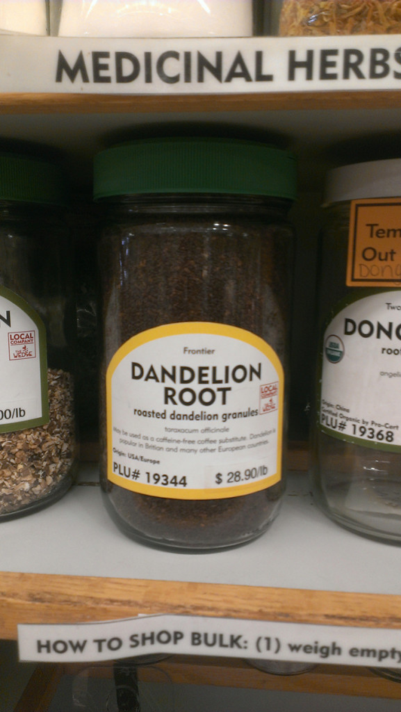 Dandelion Root at The Wedge Community Co-op