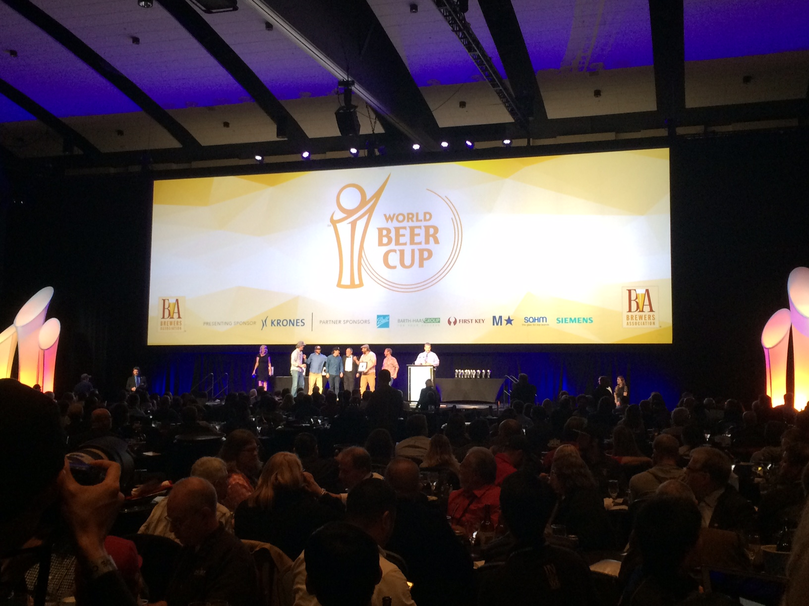 2016 World Beer Cup Awards Ceremony // Photo by Brian Kaufenberg