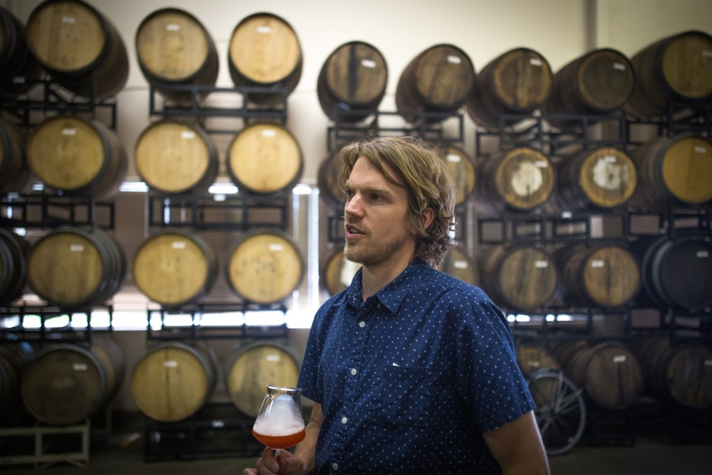 Indeed brewer Adam Theis, Photo by Aaron Davidson // Growler Magazine