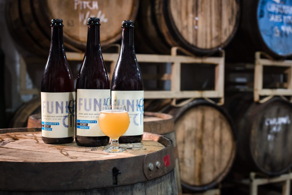 Insight releases their first sour beer, Funken City, February 2017 // Photo by Kevin Kramer, The Growler