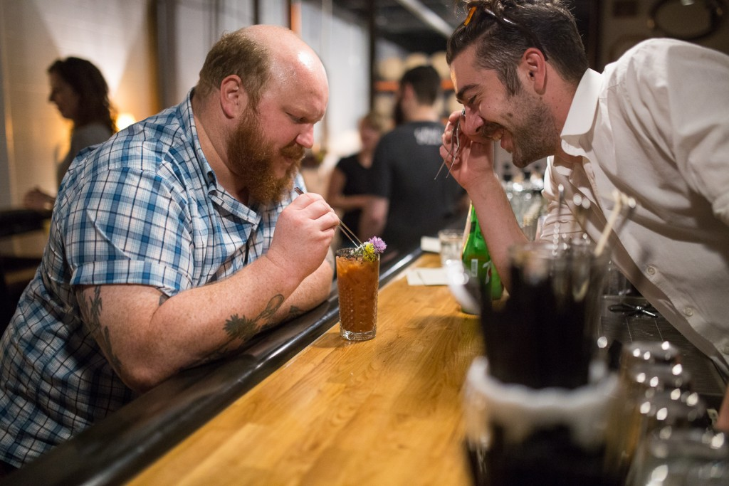 Nick Kosevich (l) and Marco Zappia (r), Photo by Aaron Davidson // Growler Magazine