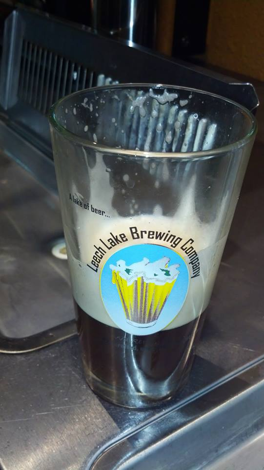 Leech Lake Bitter Cold Imperial Northern Brown IPA Leech Lake Bitter Cold Imperial Northern Brown IPA // Photo courtesy of Leech Lake Brewing Company