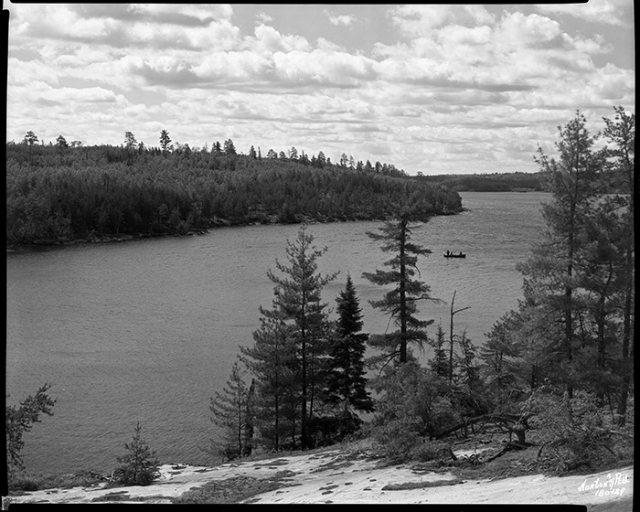 Little Vermillion Lake in the Boundary Waters Canoe Area // Photo courtesy of Minnesota Historical Society