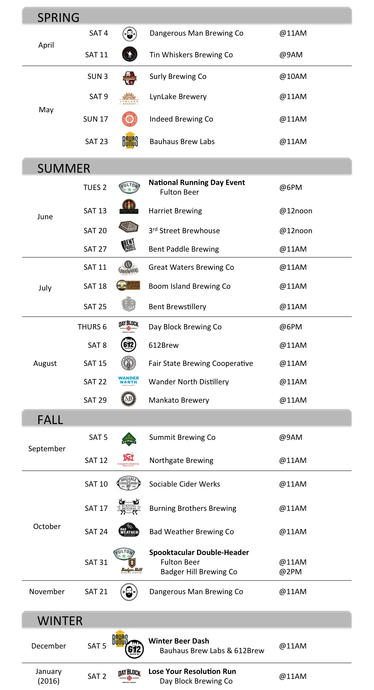 MN BREWERY RUNNING SERIES_2015 SCHEDULE_announcement web