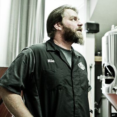 Town Hall head brewer Mike Hoops