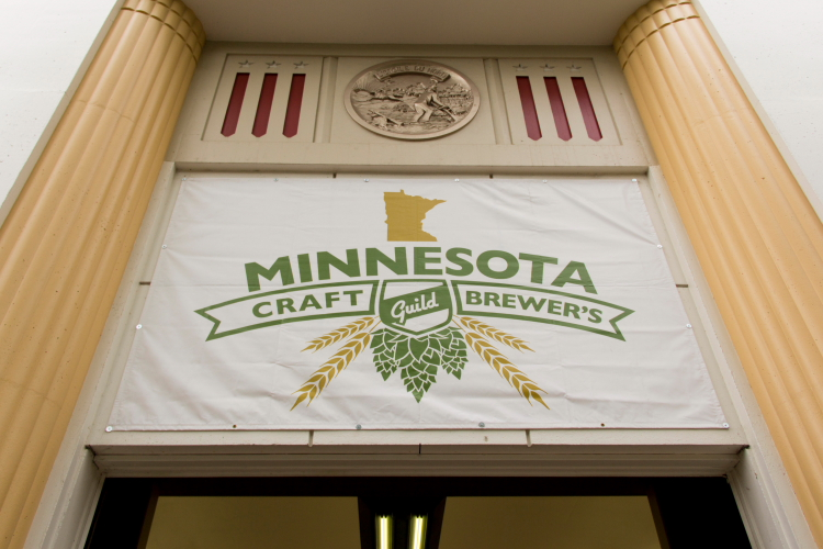 Minnesota Craft Brewers Guild, Land of 10,000 Beers, Minnesota State Fair 2014 // Photo by Brian Kaufenberg