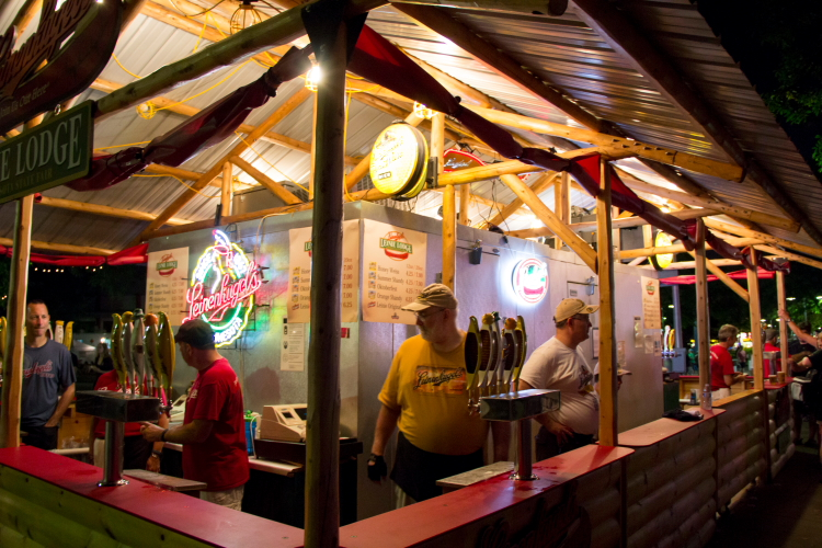 Leinie Lodge, Minnesota State Fair 2014 // Photo by Brian Kaufenberg