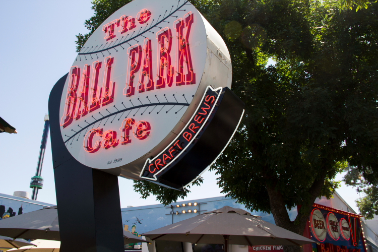Ballpark Cafe at the Minnesota State Fair // Photo by Brian Kaufenberg