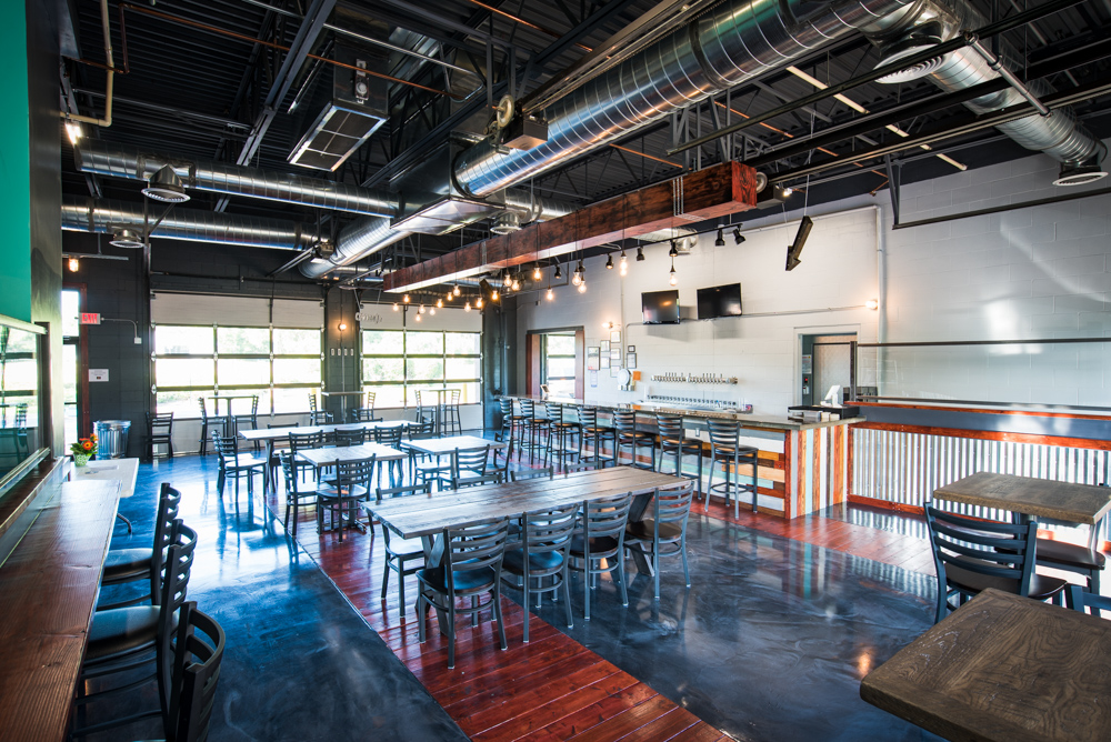 Alloy Brewing in Coon Rapids opened its doors on June 24 // Photo by Kevin Kramer, The Growler