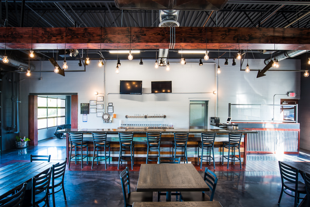 Alloy Brewing's taproom in Coon Rapids // Photo by Kevin Kramer, The Growler