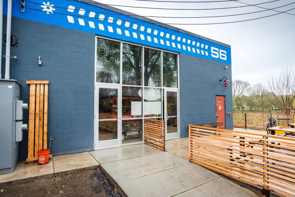 The grand opening of the new 56 Brewing taproom at 3055 Columbia Avenue NE, Minneapolis is May 5, 2017 // Photo by Kevin Kramer, The Growler