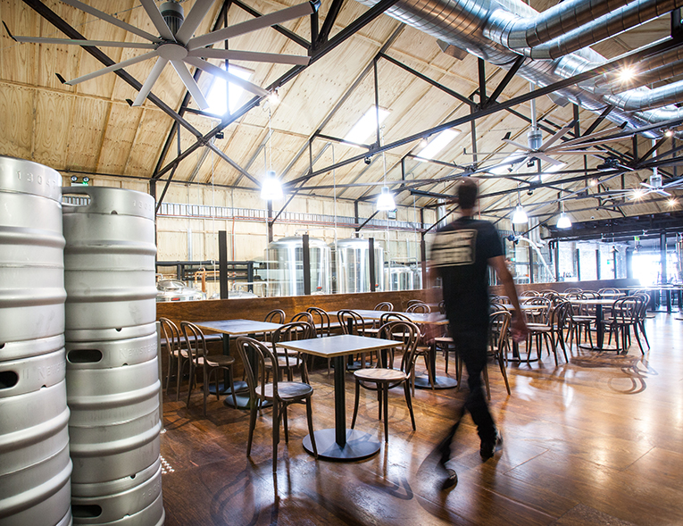 Newstead Brewing Company // Photo courtesy of Newstead Brewing