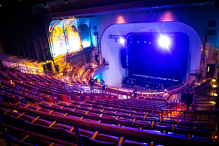 The newly renovated Palace Theatre opens on March 10 in St. Paul // Photo by Aaron Davidson