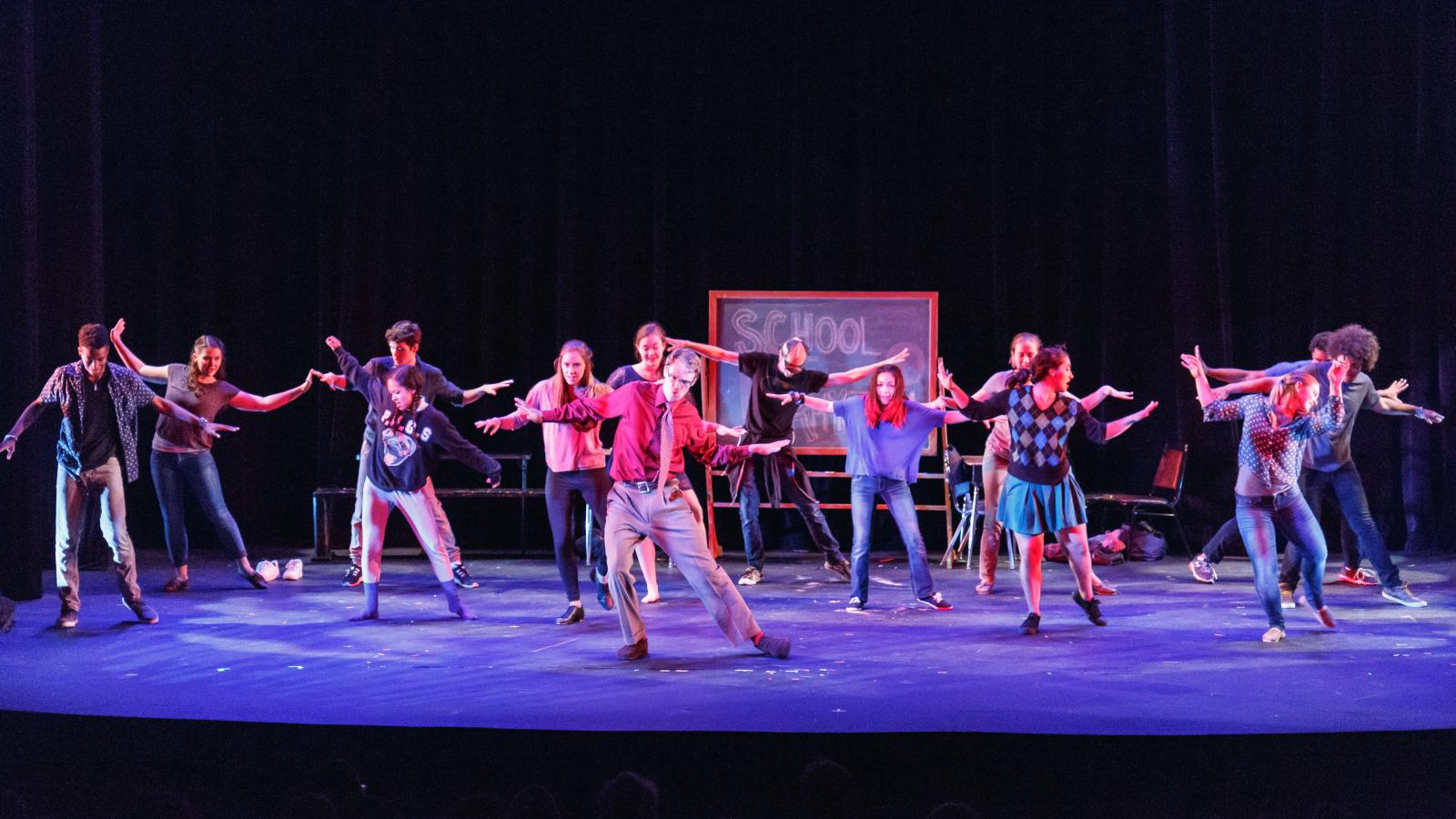 """""""School of Rhythm"""" presented by Elephant Games Productions at Rarig Center Proscenium"""