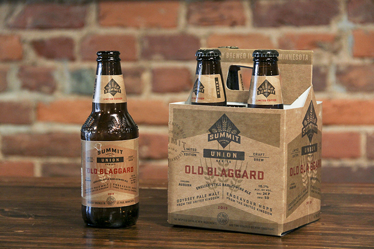 Summit Brewing Old Blaggard // Photo by Brian Kaufenberg