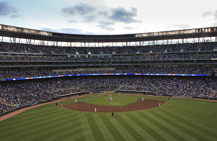 Target Field // Photo by Brian Kaufenberg