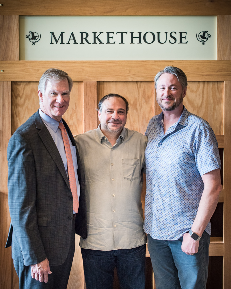 (L to R) St. Paul Mayor Chris Coleman, Lenny Russo, Tim McKee // Photo by Kevin Kramer, The Growler