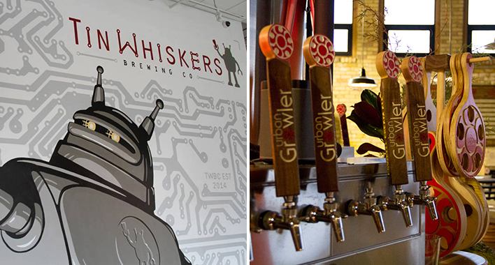 Tin Whiskers Urban Growler Brew Off