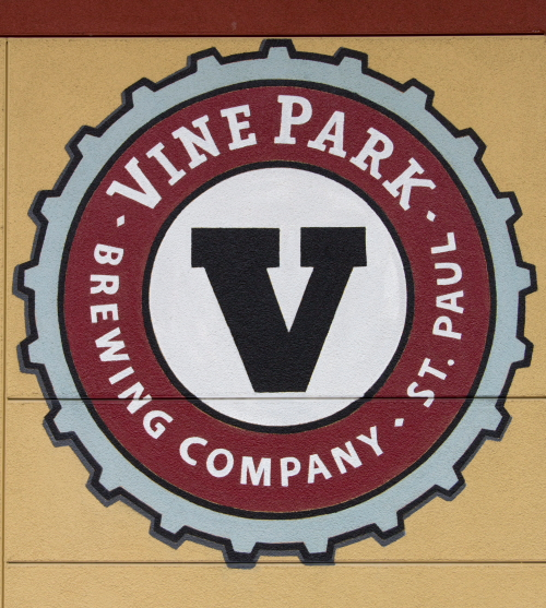 Vine Park's logo // Photo by Brian Kaufenberg