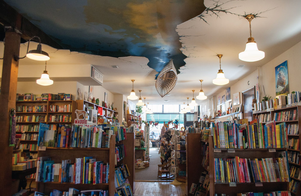 """The interior of Wild Rumpus was designed to look like the book """"The Salamander Room"""" // Photo by Chalsey Falk"""