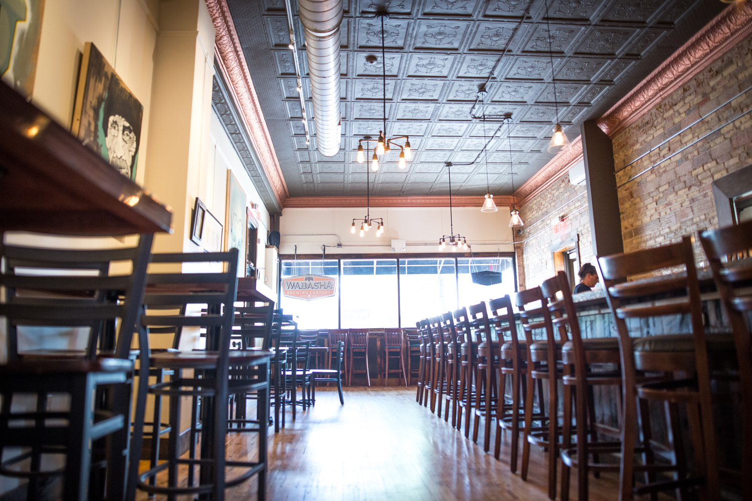 Wabasha Brewing's new taproom // Photo by Aaron Davidson