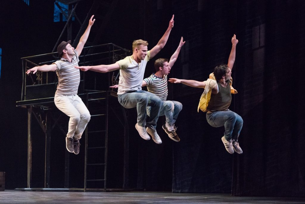 The Jets in West Side Story // Photo by Rich Ryan